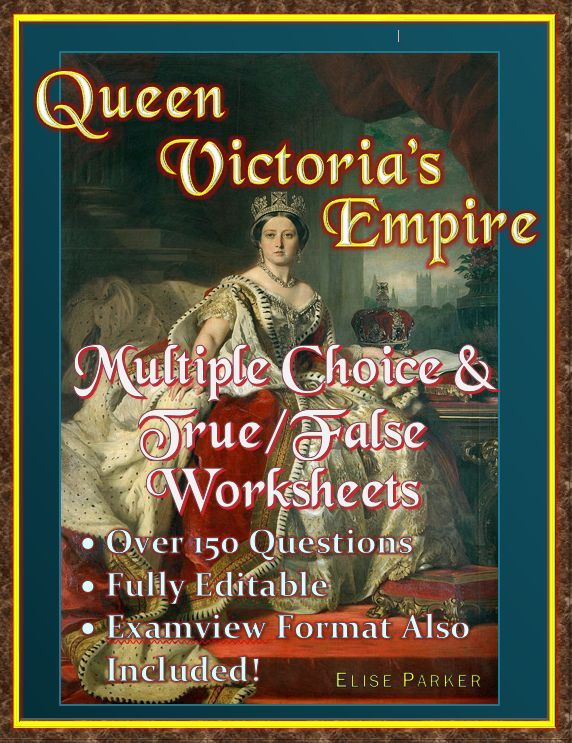 Queen Victoria\u0027s Empire Video Questions -- Word / Examview / PDF