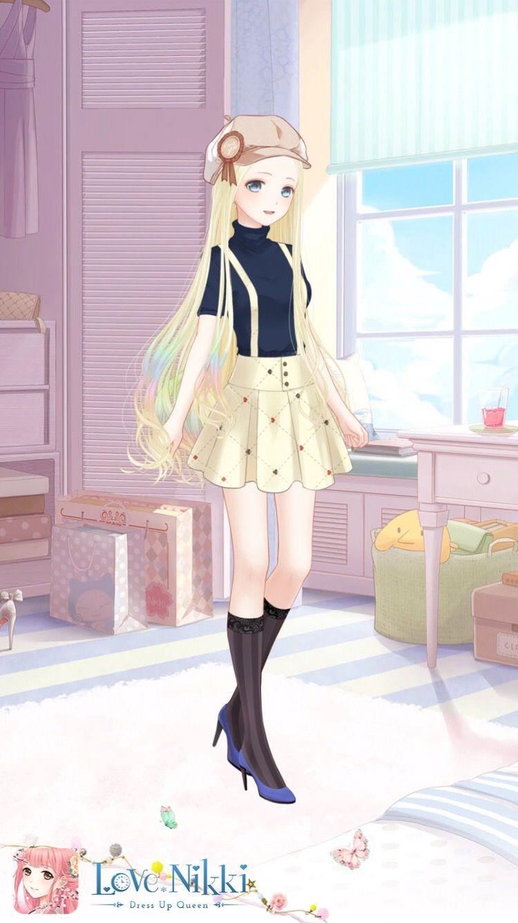 Cute Little Anime Girl Dress Up