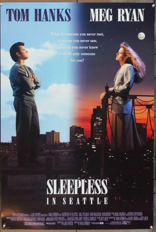 MovieArt Original Film Posters - SLEEPLESS IN SEATTLE (1993)