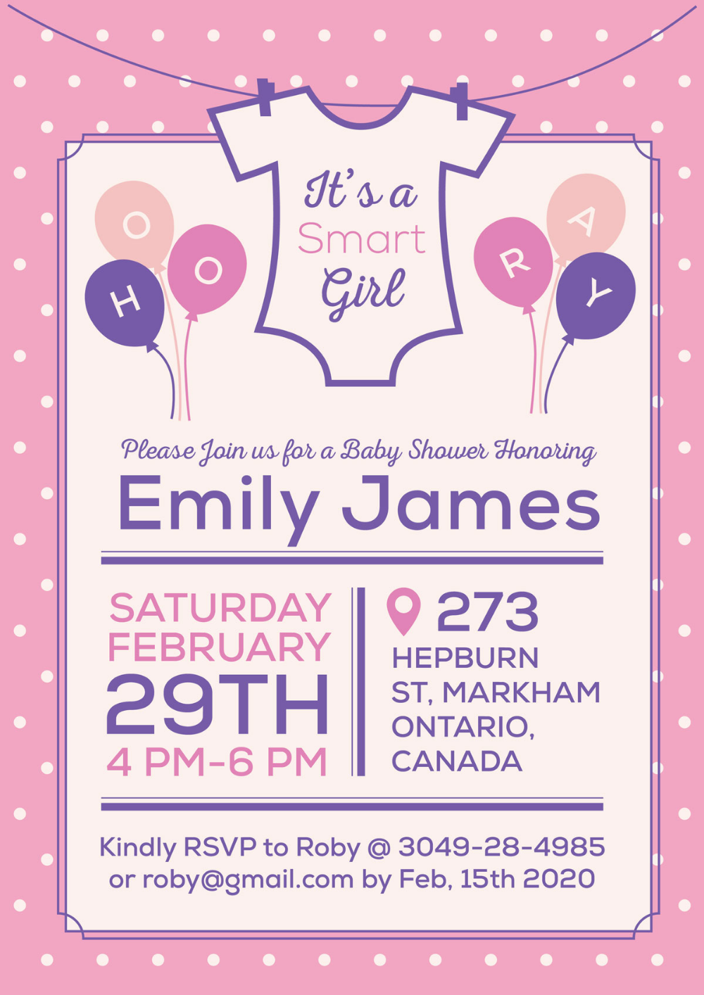 It S A Baby Girl Free Shower Invitation Card Design Template Ai In 2020 Invitation Card Design Baby Invitations Invitation Design Template