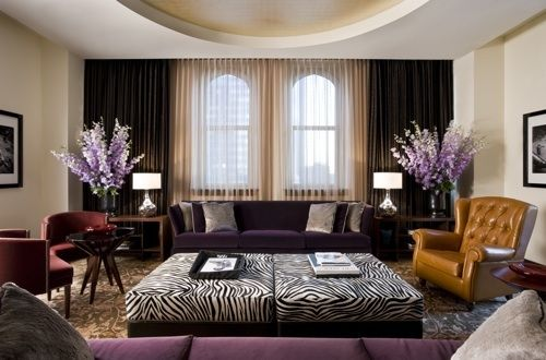 Live Breathe Decor » Blog Archive » Purple in every shade Living