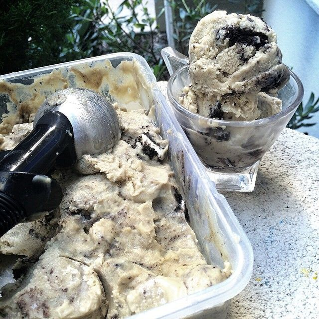"""COOKIES AND CREAM PROTEIN ICE CREAM  #EPIC The texture of this Sweet Potato Ice Cream will BLOW YOUR MIND No Ice Cream Machine Needed! Here is my…"""
