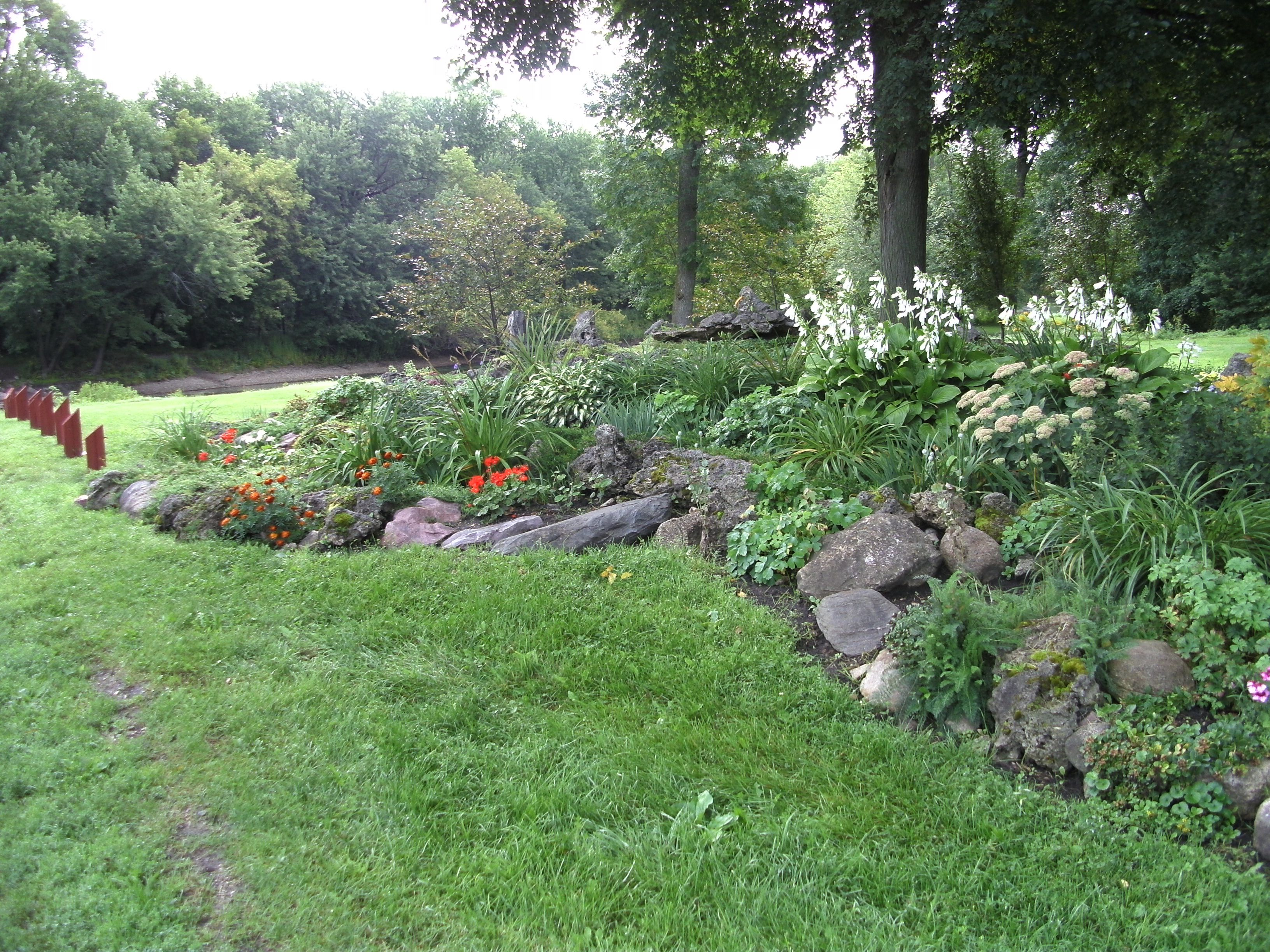 Rock Garden, Estherville Iowa