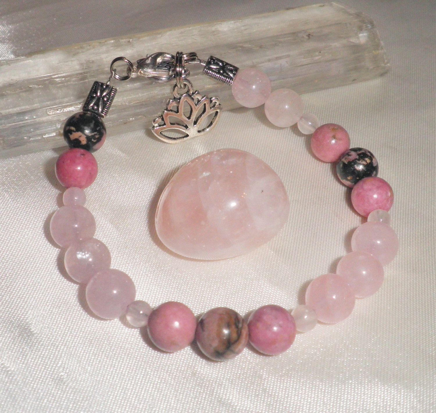 Pink Lotus Blossom Bracelet Pink Is Of Supreme Importance And Is