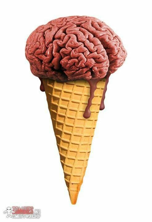 Zombies brain cone