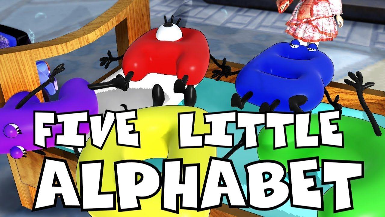 five little alphabets song car songs kids songs frozen songs nur