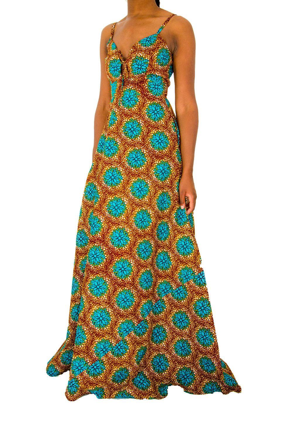 c07015c94f2a4 robe,wax,longue,en,pagne,pas,cher,couture,   modèle pagne   Robe ...