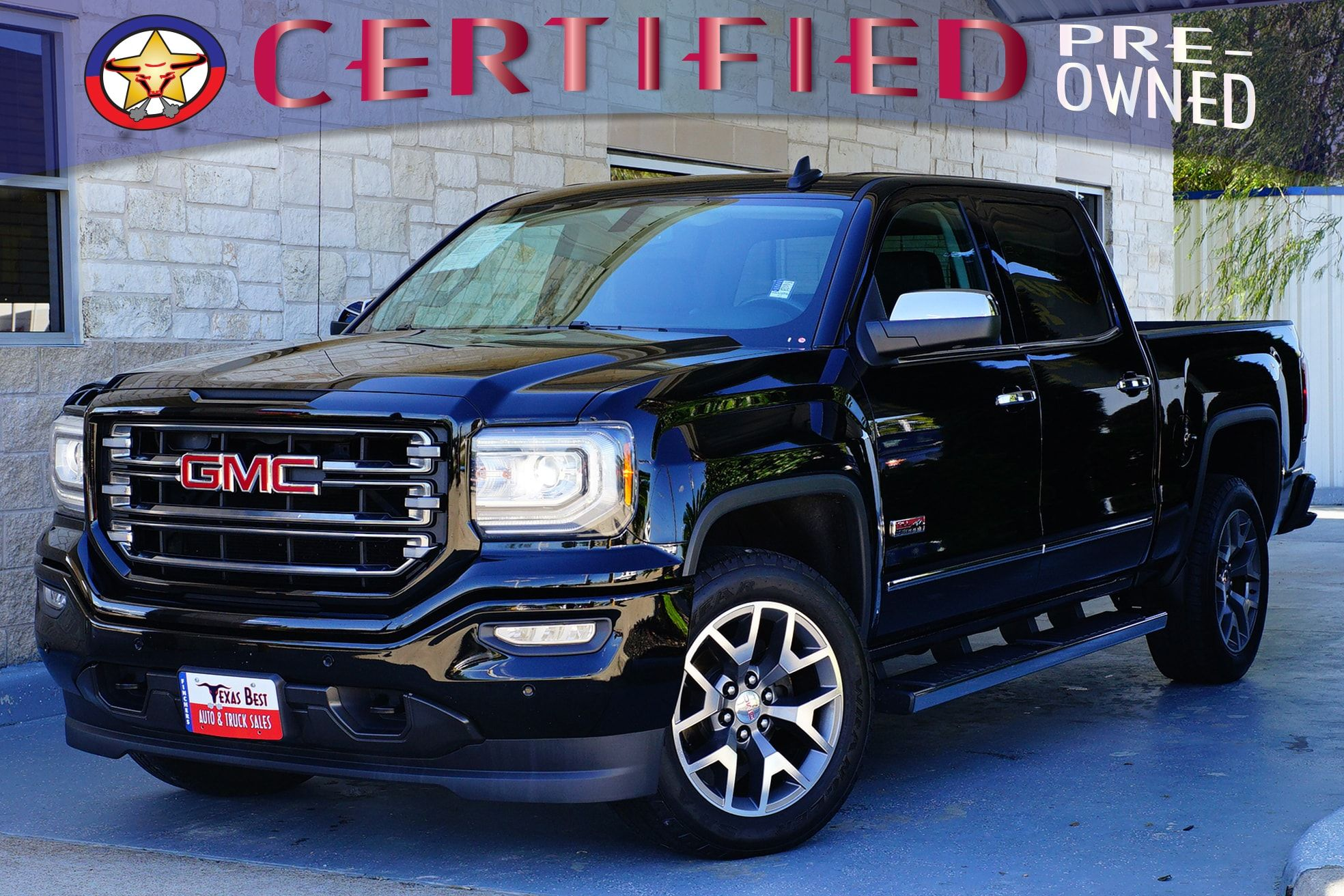 Certified Pre Owned 2016 Gmc Sierra 1500 Slt For Sale At