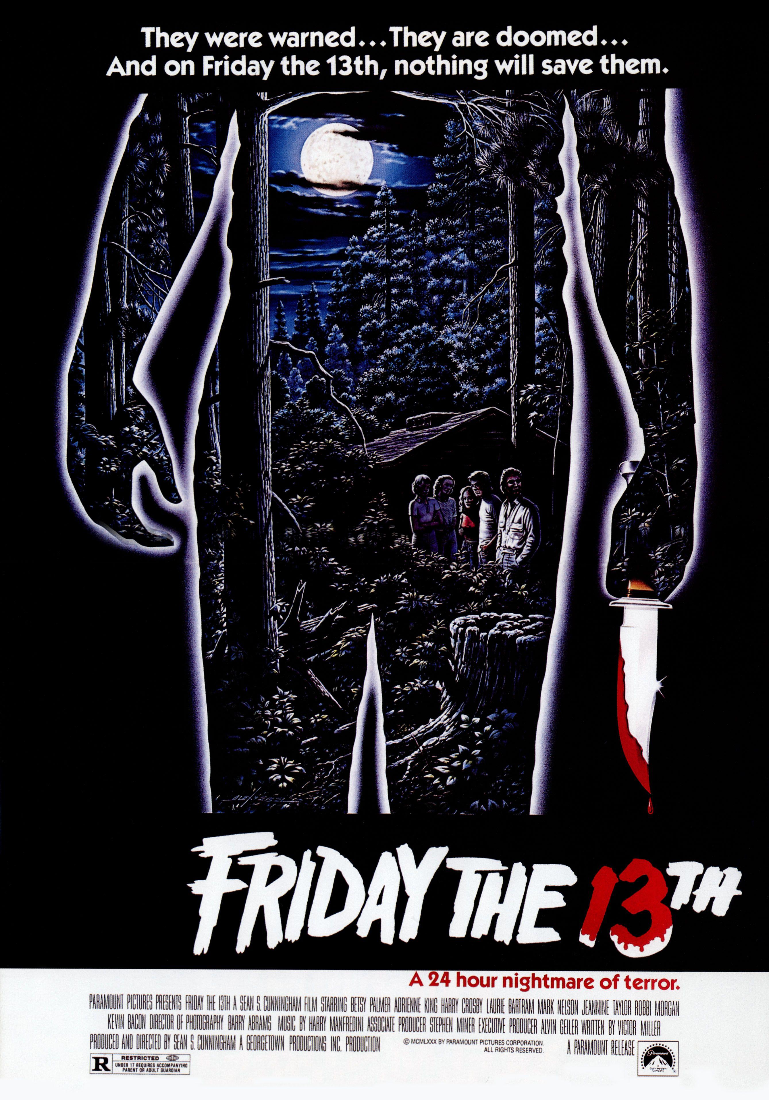 Friday the 13th 1980 sextafeira 13 cartazes de