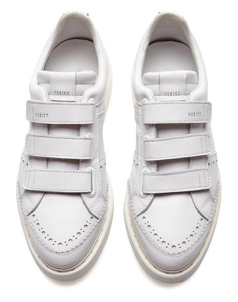 0af3546083d NOAH VELCRO - White Leather | Nubikk | Official webshop Schoenlaarzen,  Kalfsleer, Wit Leder