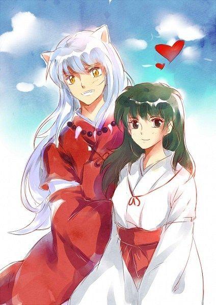 Inuyasha And Kagome Inuyasha Kagome Anime Inuyasha Love Inuyasha