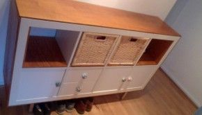Credenza Ikea Shabby : Expedit home decor ikea hack paint furniture