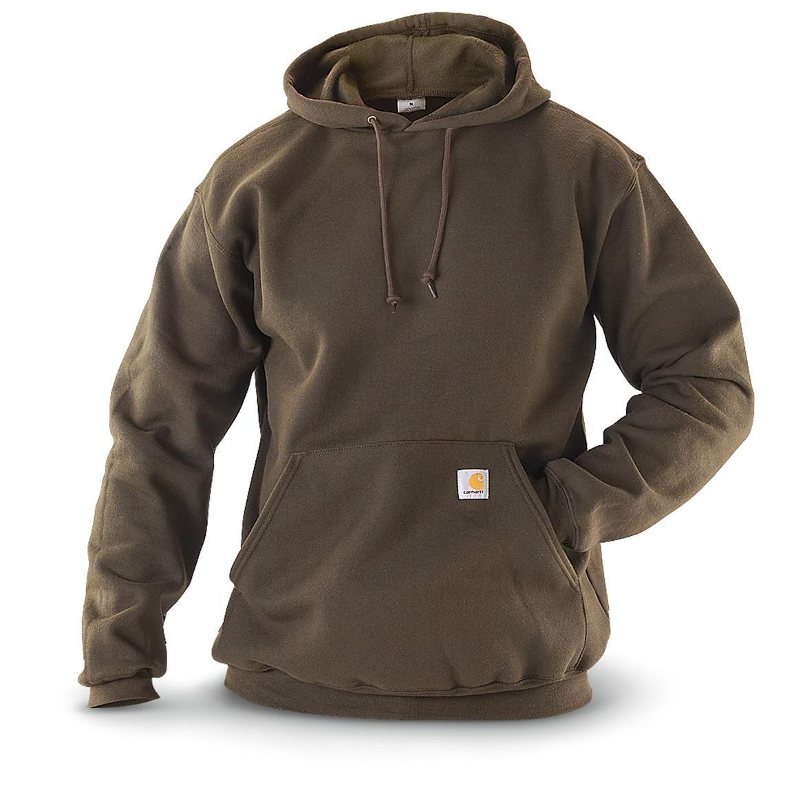 Carhartt Men S Midweight Hooded Pullover Sweatshirt 228226 Sweatshirts Hoodies At Sportsman S Guide Carhartt Sweatshirts Carhartt Mens Mens Outfits [ 1154 x 1154 Pixel ]