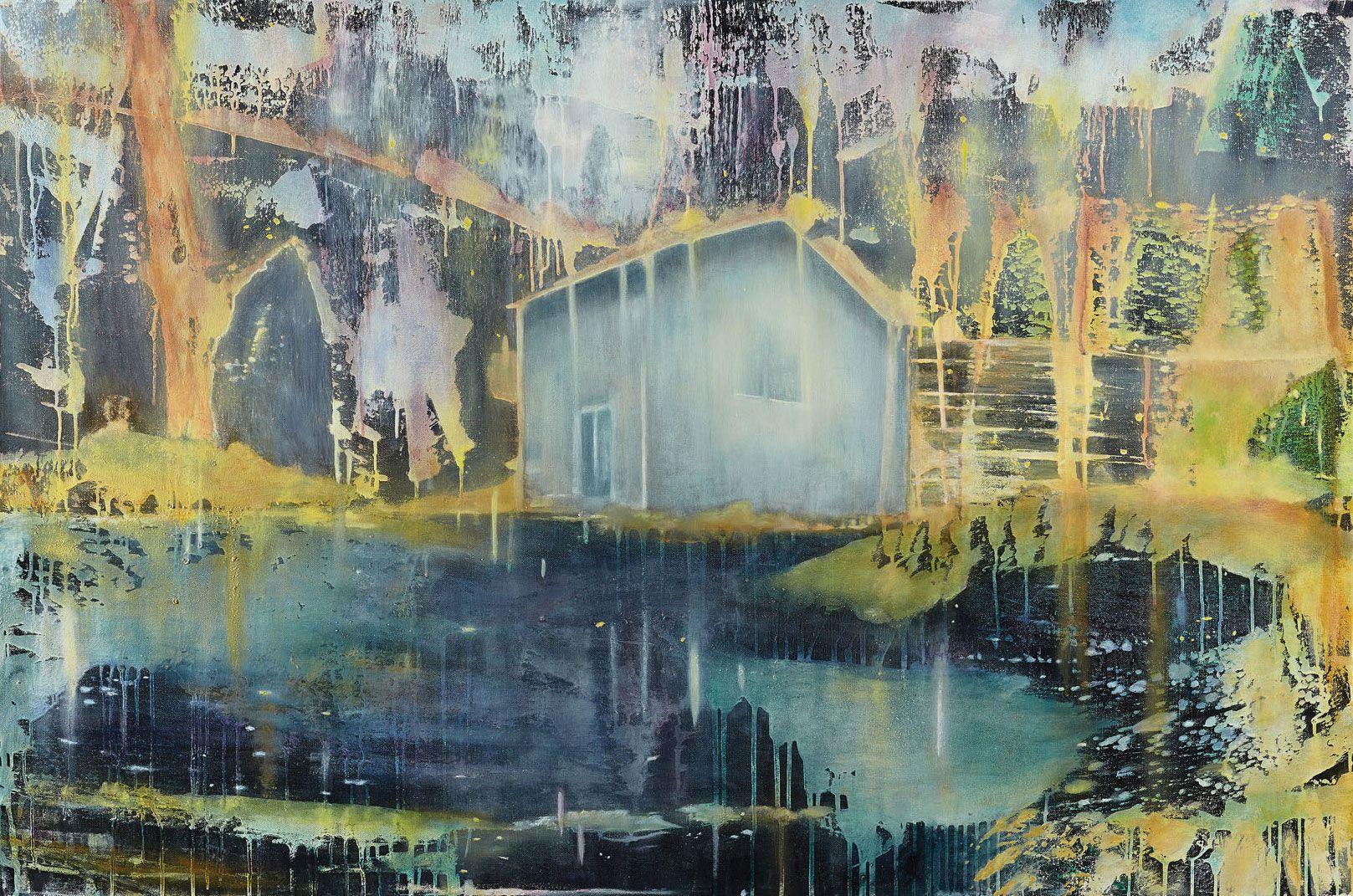 "Sonja Edle von Hoeßle: Bild ""Lough Corrib"" (2013) - Artes"