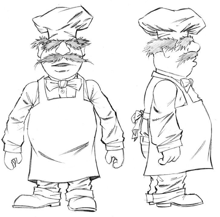 Swedish Chef Coloring Pages