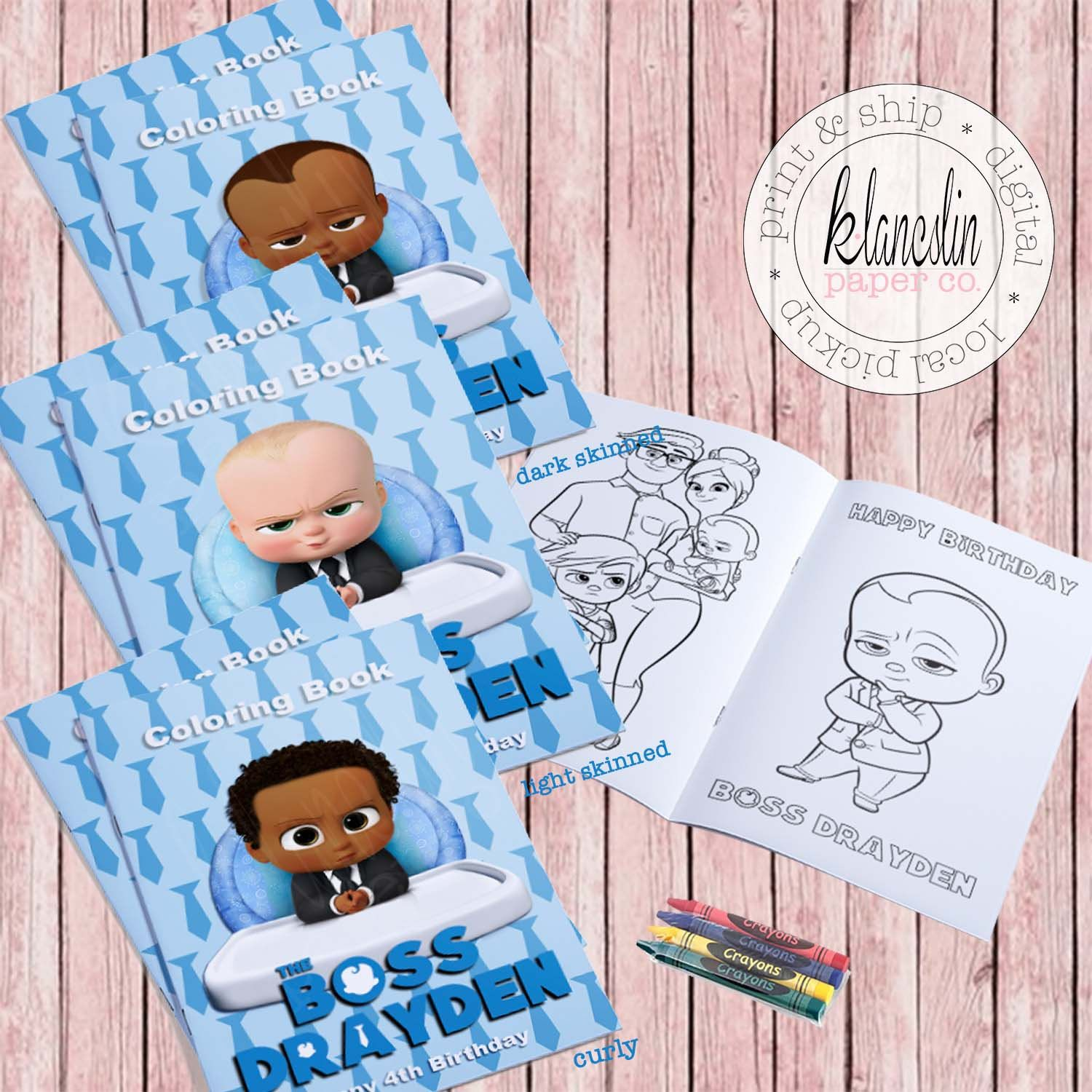 Boss Baby Coloring Book Boss Baby Party Favor Boss Baby Printable Boss Baby Digital Boss Baby Colorin Baby Party Favors Spiderman Party Supplies Boss Baby