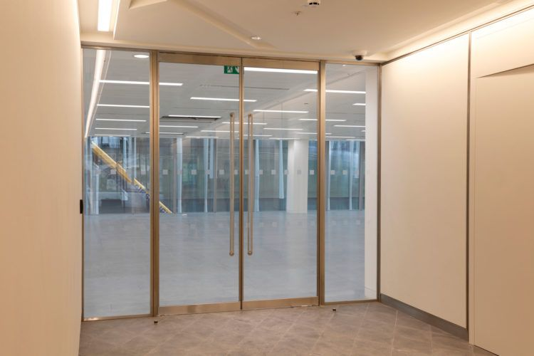 Fire Rated Glazed Partitions And Doors Glass Partition Wall