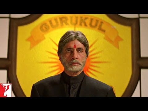 "Mohabbatein--Amitabh Bachchan ""Har kamyabi ke peeche bahut bada ..."