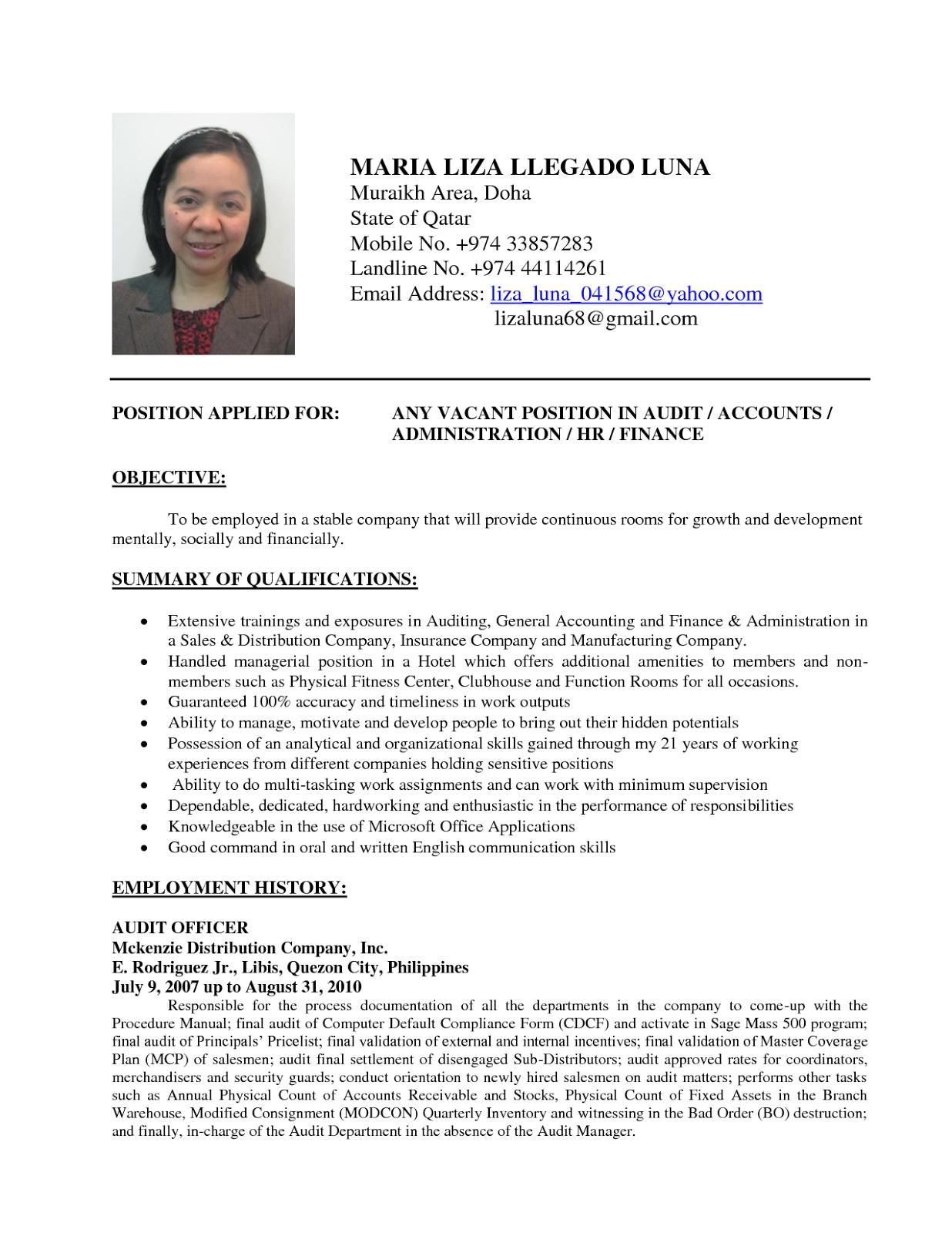 Dalam Bahasa Inggris  Contoh Lamaran Kerja dan CV  Pinterest