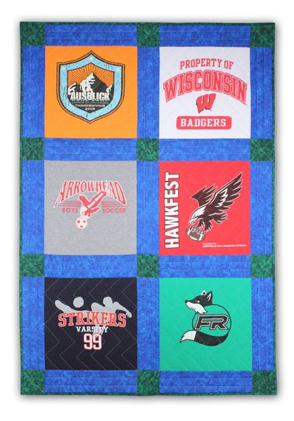 Easy T-Shirt Quilt instructions. From June Tailor at www ... : easy t shirt quilt instructions - Adamdwight.com
