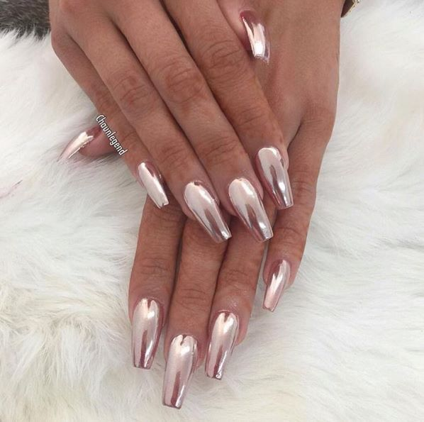 Rose Gold Claws