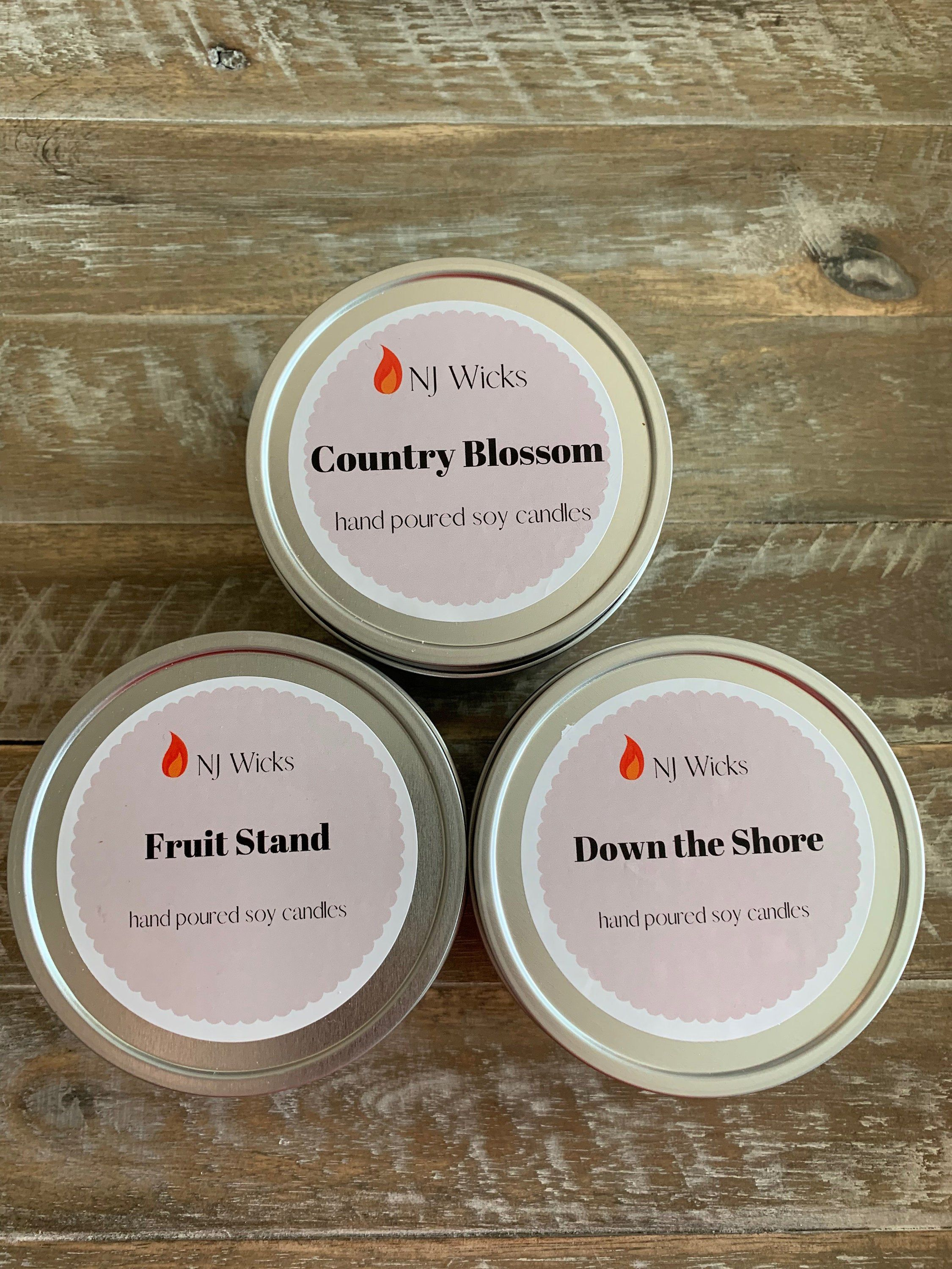 Soy Candle Gift Set, All Natural Candles, Chemical Free ...