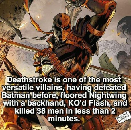 Opinions on Deathstroke?