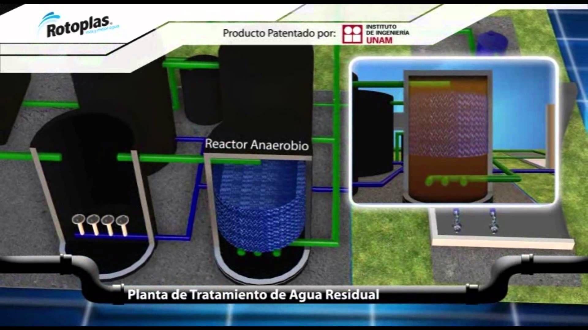Planta de tratamiento de agua residuales ptar agua - Tratamiento del agua ...
