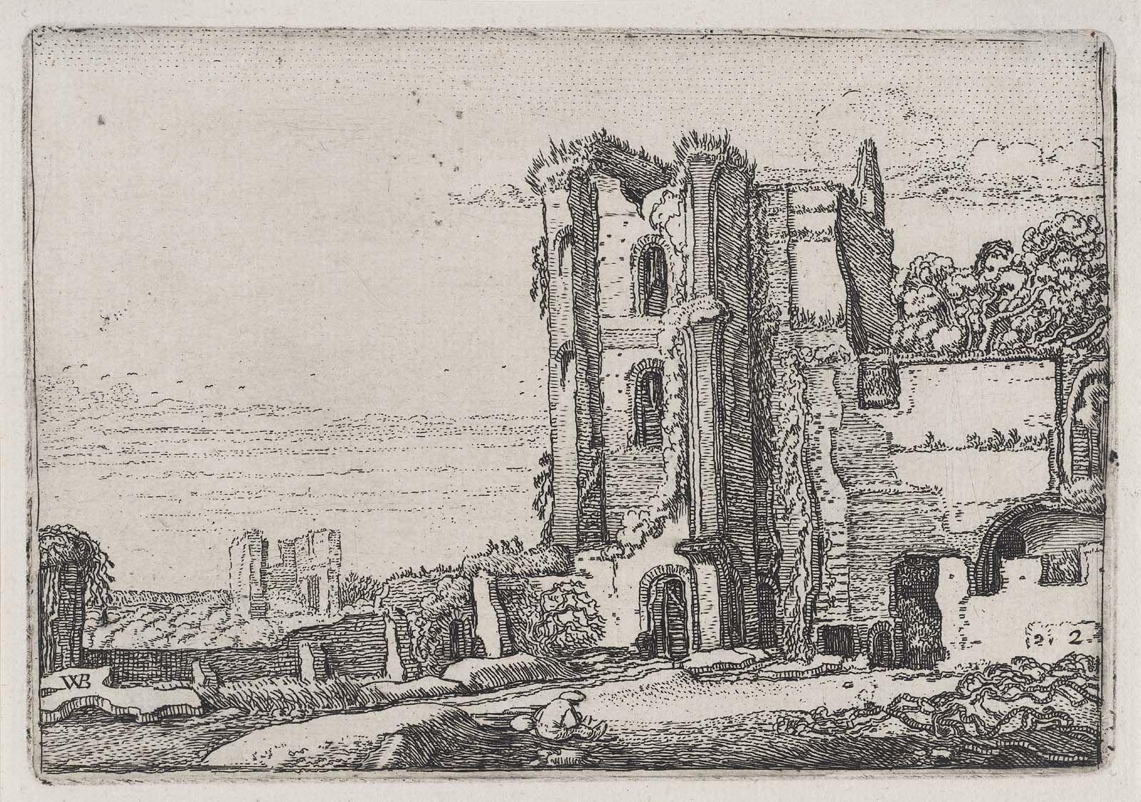 Ruins of Brederode Castle near Haarlem (c. 1616)