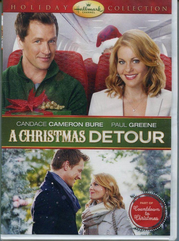 A Christmas Detour Hallmark Dvd Brand New 2015 Free Ship Free Digital Vudu Hallmark Movies Christmas Movies On Tv Christmas Movies