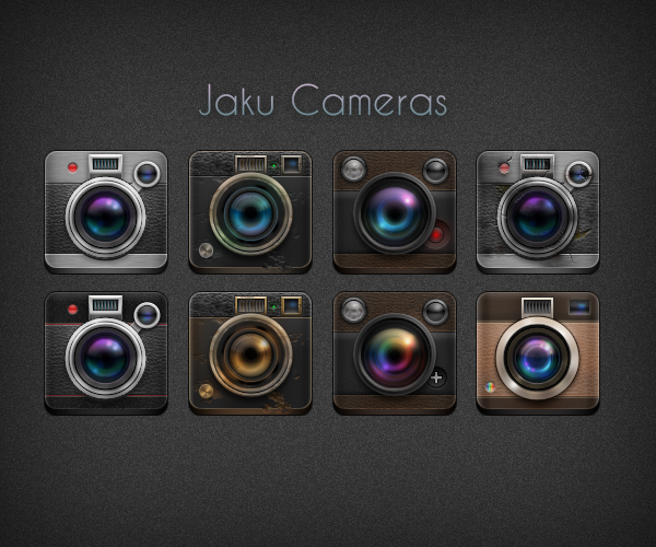 NiM's Camera Icons by on