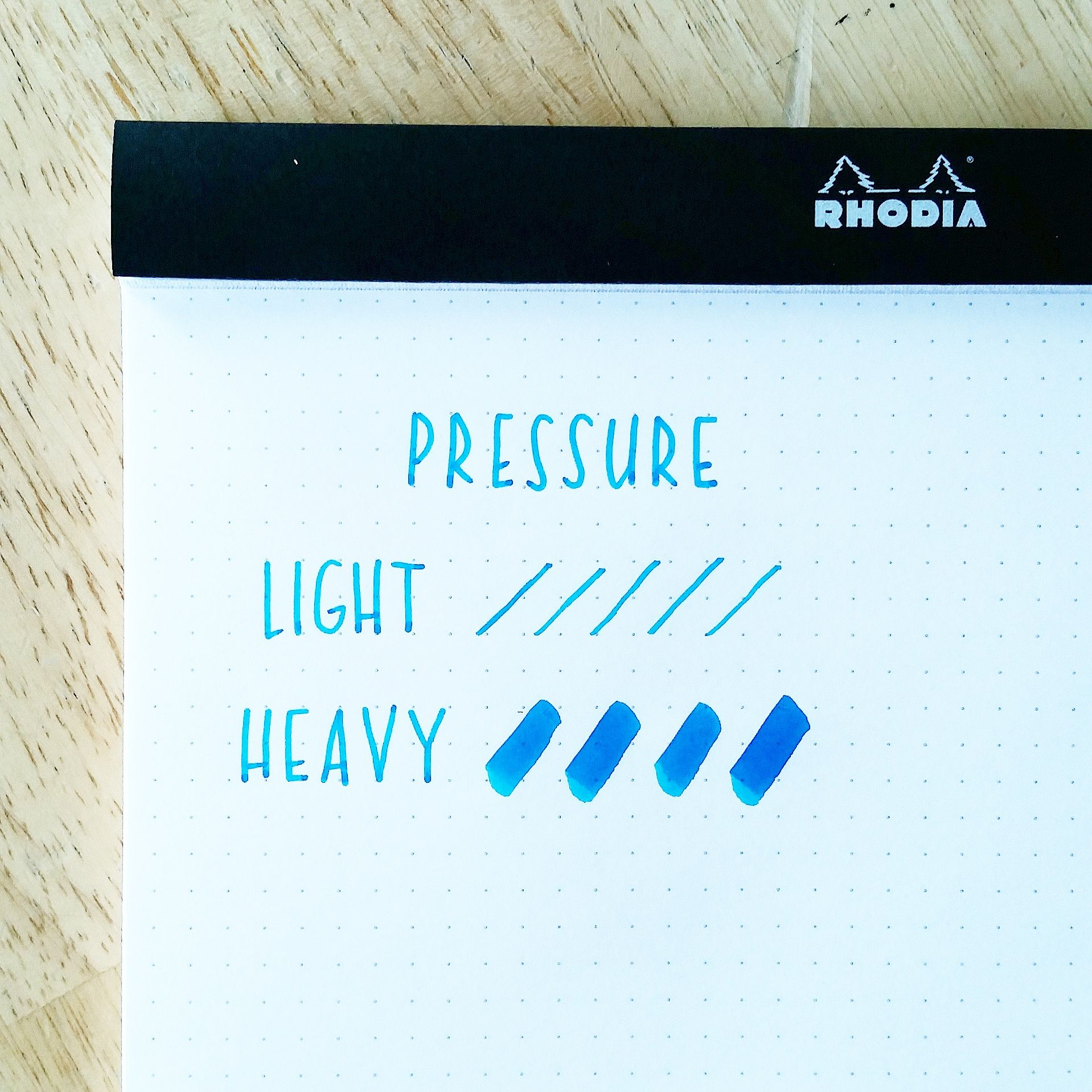 How To Apply Pressure When Creating Brush Calligraphy