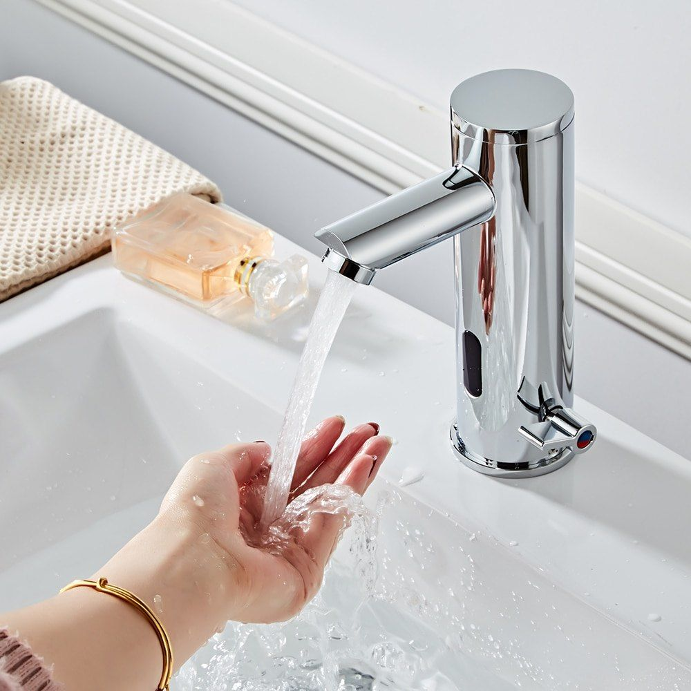 Induction Faucet Automatic Sensor Faucet Sensor Bathroom Sink