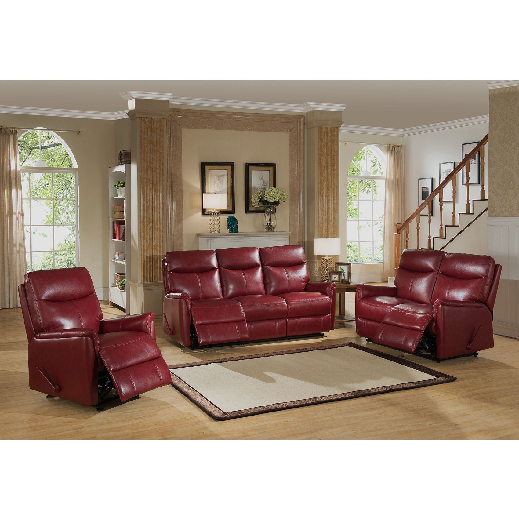 couch sofa dp com roundhill microfiber loveseat pillow sets set kitchen and furniture back amazon chocolate aruba dining