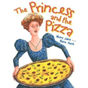 LOVE this book! Fun tale about becoming a princess. And who doesn't love pizza!
