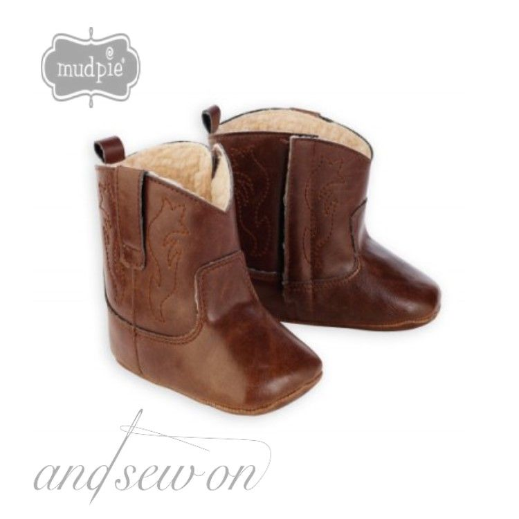 Baby Cowboy Boots!  Check out our facebook sale!  Items will be up for 24 hours!  www.facebook.com/AndSewOnBCS