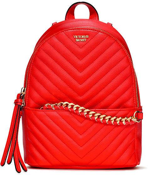 2cfdc074fb93 Victoria s Secret Victorias Secret Pebbled V-Quilt Small City Backpack