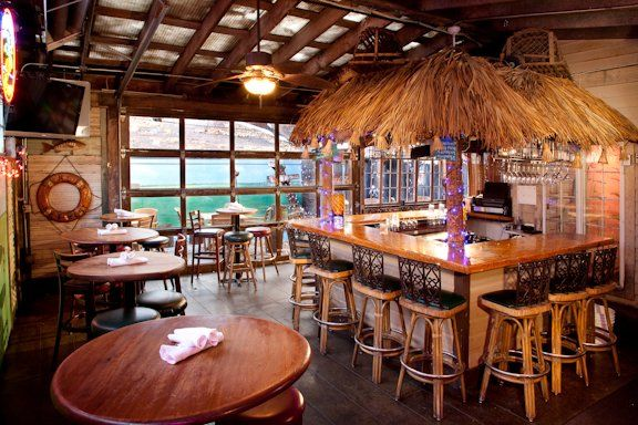 Bar With Garage Doors The Tiki Bar With Garage Door That