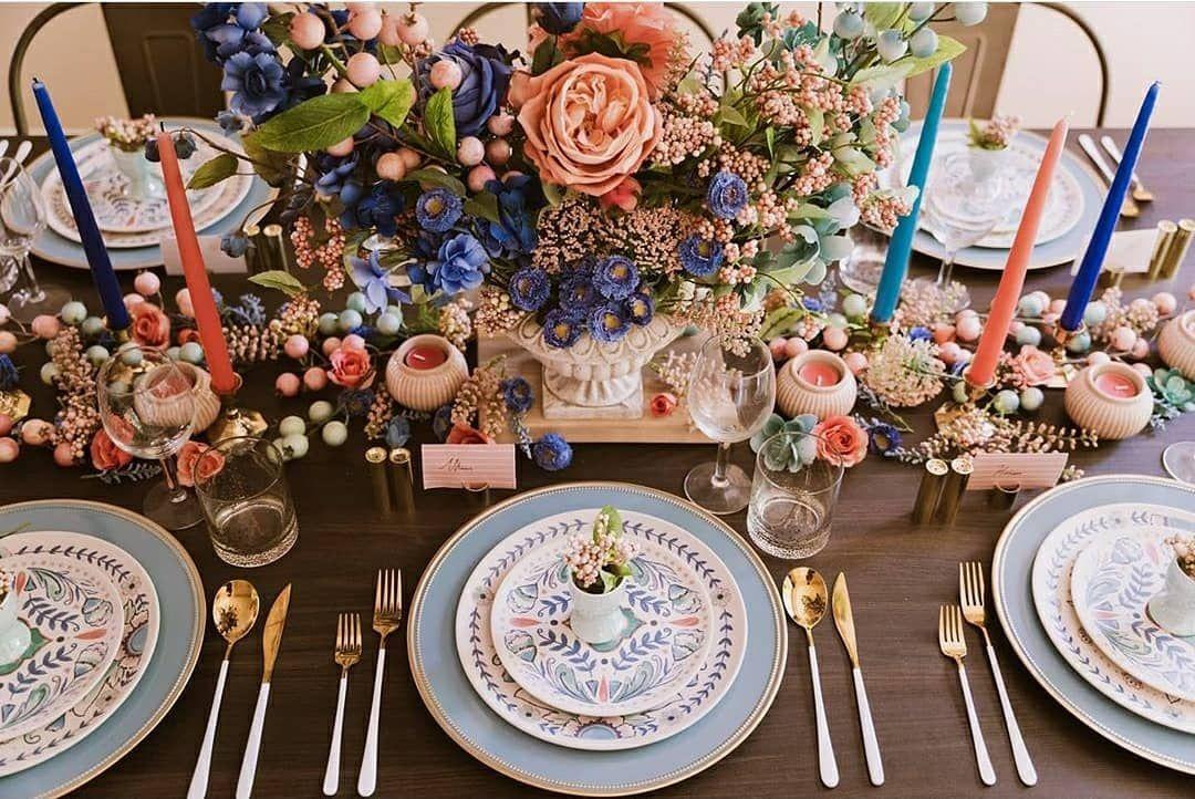 "Plateography on Instagram: ""Birds of Paradise 🐦 @maryamoon_design . . . . . . . . . . . . . . . . . . . . . . . . . . . . #tablescapes#tabledecor#florist…"""