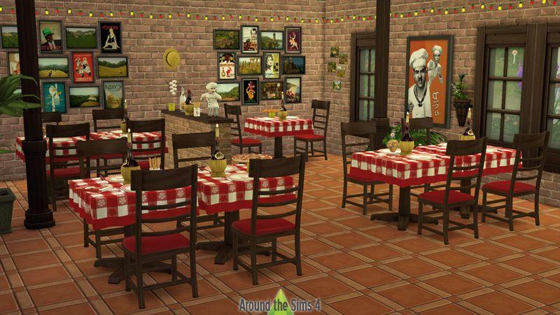 Resultado de imagem para design de décoration pizzeria | Pizzaria ...