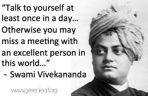 008 Servant Leadership Swami Vivekananda Servant
