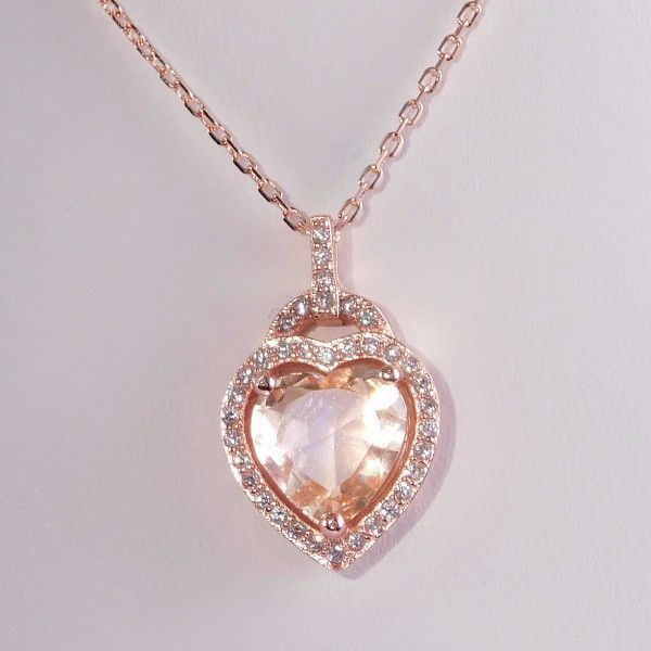 925 Sterling Silver .015ct Diamond Chain Necklace Pendant Charm Fancy Fine Jewelry Gifts For Women For Her