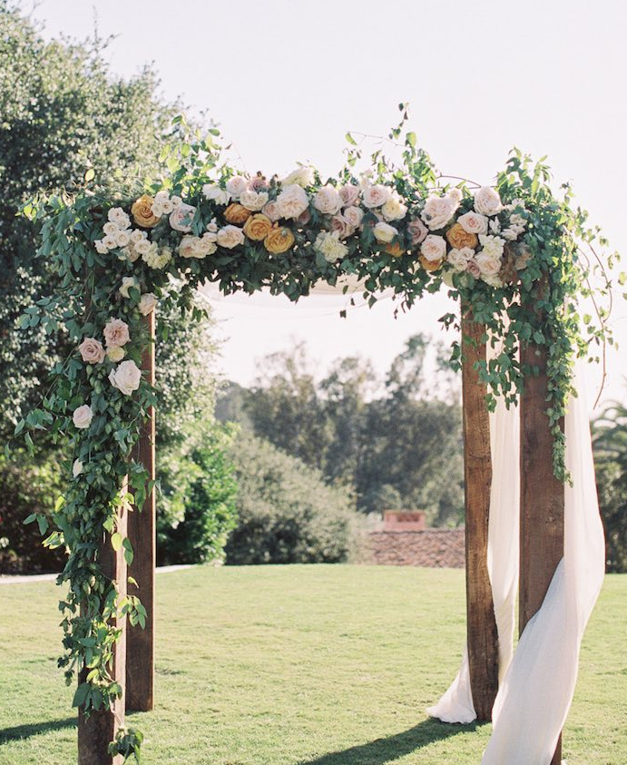 Romantic english garden style san diego wedding festa jardim romantic english garden style san diego wedding modwedding junglespirit Image collections