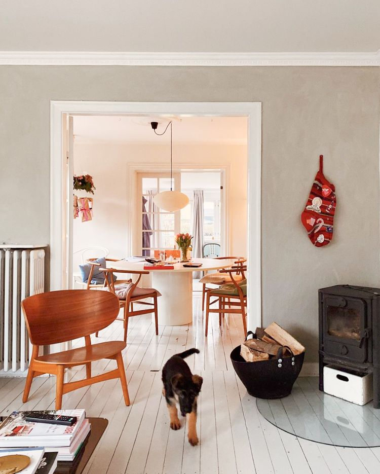 My Scandinavian Home A Colourful Vintage Inspired Danish Home At Christmas My Scandinavian Home French Country Cottage Decor Scandinavian Home