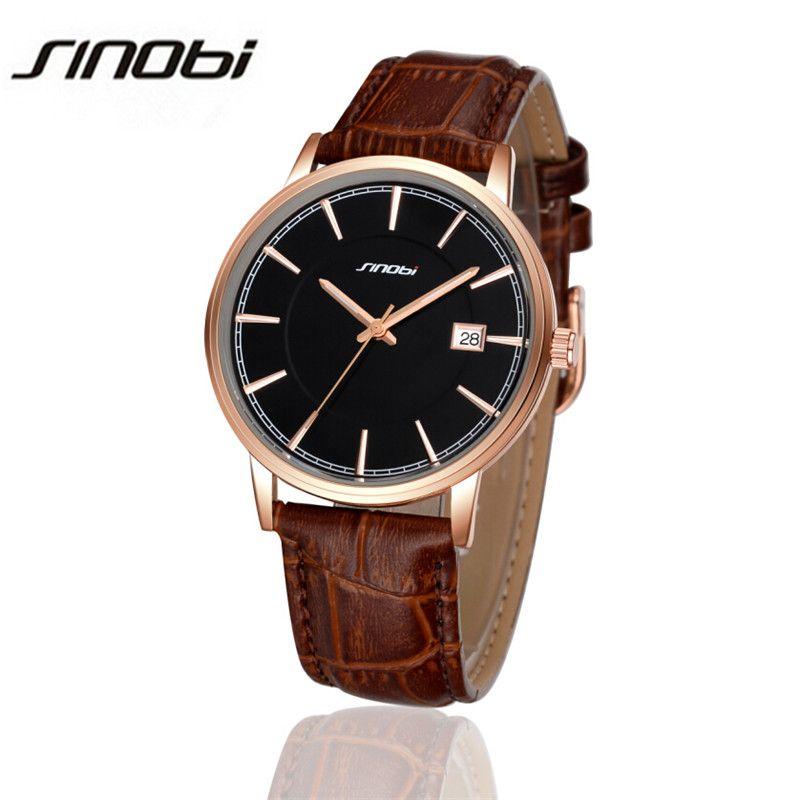 $17.88 (Buy here: https://alitems.com/g/1e8d114494ebda23ff8b16525dc3e8/?i=5&ulp=https%3A%2F%2Fwww.aliexpress.com%2Fitem%2FSINOBI-2016-Watches-Men-Luxury-Brand-Gold-R-Watch-Genuine-Leather-Men-Wristwatches-Fashion-Quartz-Watch%2F32640889026.html ) SINOBI 2016 Watches Men Luxury Brand Gold R-Watch Genuine Leather Men Wristwatches Fashion Quartz Watch Relogio Masculino AA125 for just $17.88