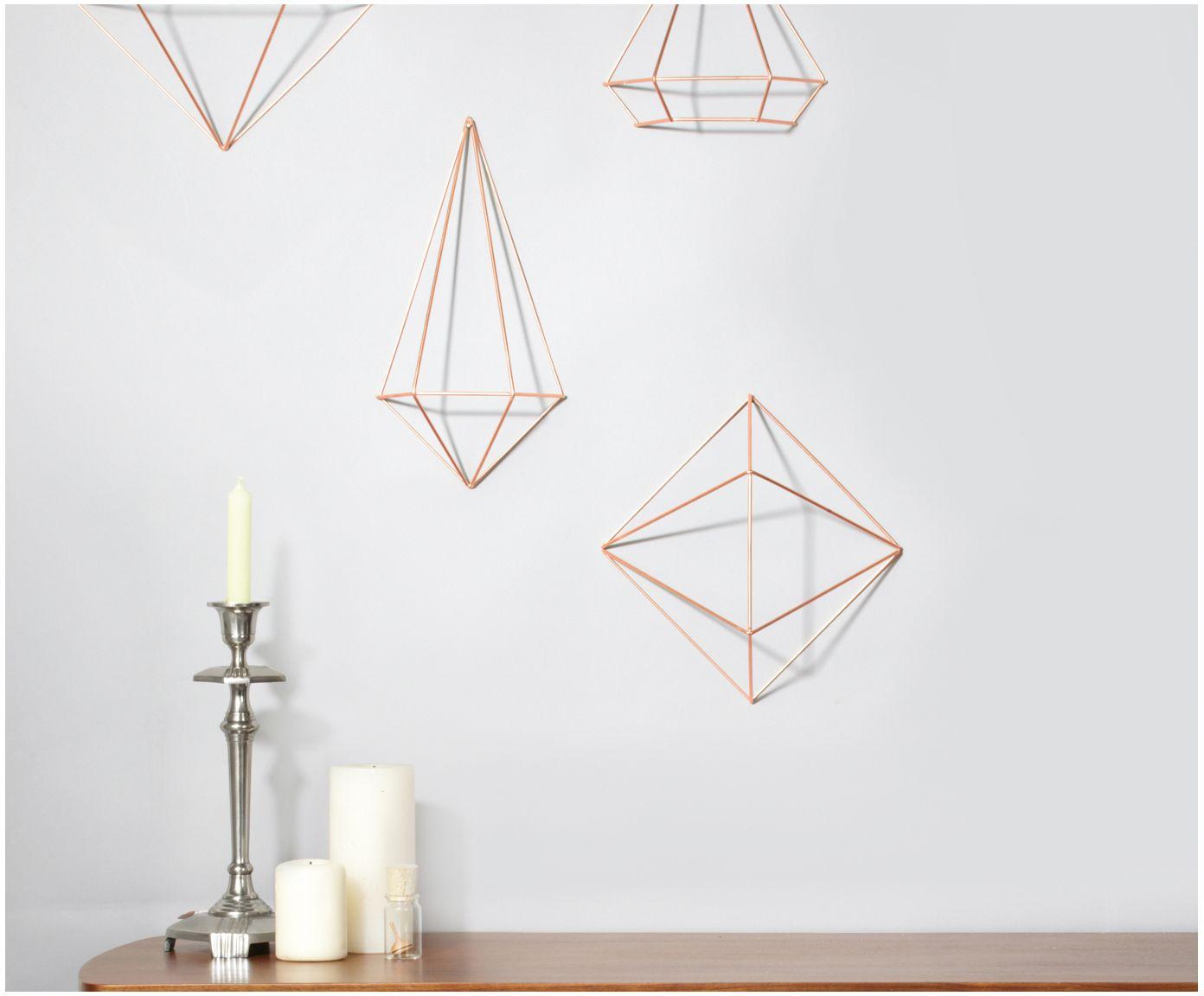 Fesselnd AFFILIATELINK | Wand Objekte Set Prisma, 6 Tlg., Skandinavisch,