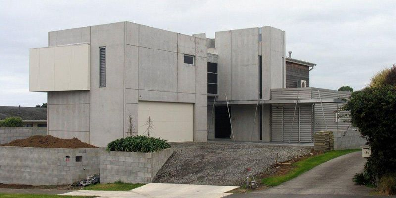 Nz Builders Cip Concrete Insulated Panel Lake Home
