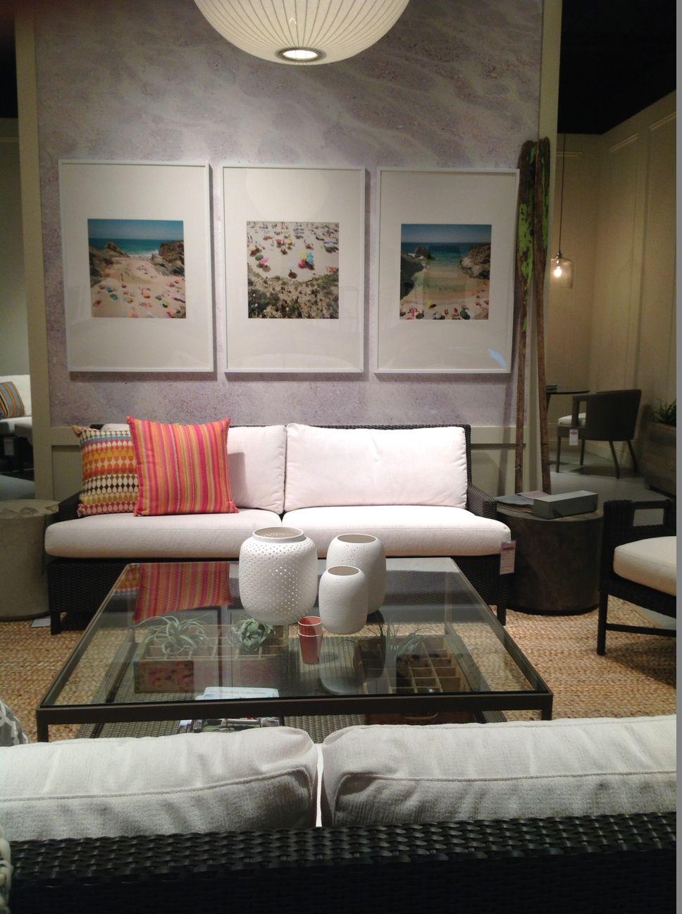 Gentil McGuire Furniture: Barbara Barry Outdoor Plateau Sofa: BB 28 Http://
