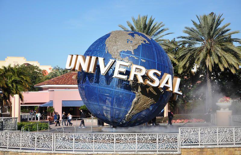 Universal Globe In Universal Orlando Florida Usa Universal Globe At The Entra Aff Orlando Universal Studios Orlando Universal Studios Florida Holiday