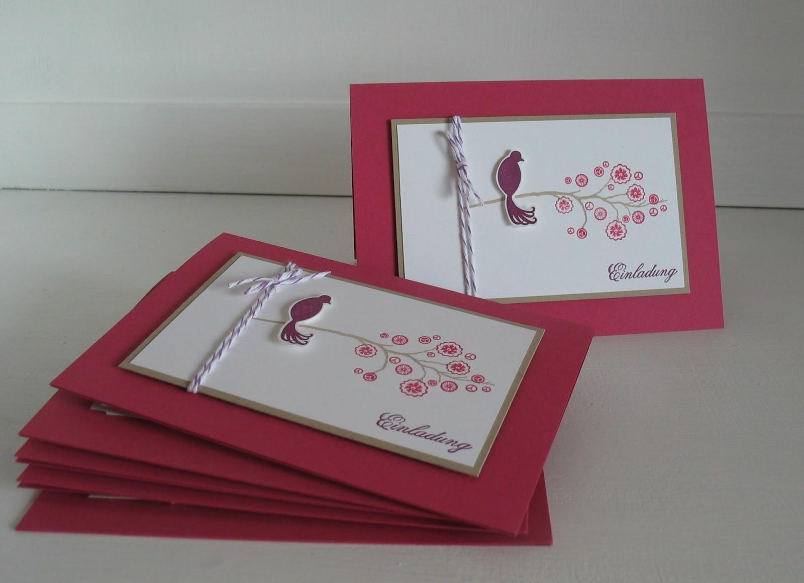 Einladungskarten Geburtstag Basteln Einladungskarten Basteln